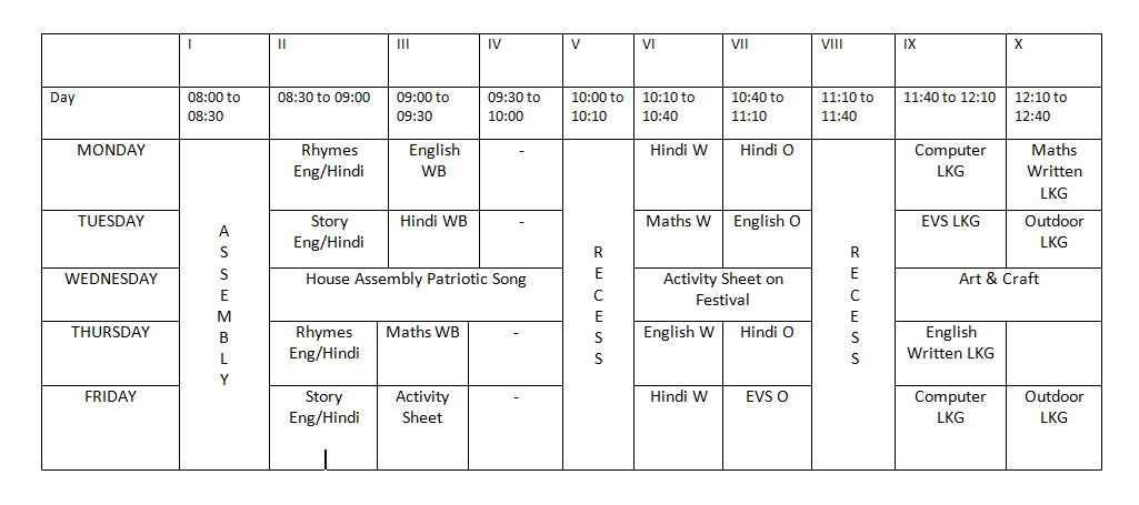 Time table club timetable 2014 custom project on for Tekerala org time table 2015